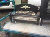 Electric fire log burners