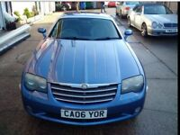 2006 CHRYSLER CROSSFIRE IN AERO BLUE 6 SPEED MANUAL