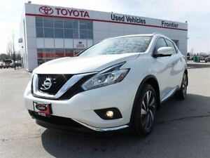2015 Nissan Murano Platinum\AWD\Leather Heated Seats\Panoramic S