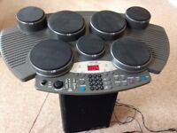 Electronic drum machine- Clarity CDM-01- Great for practice or beginners.