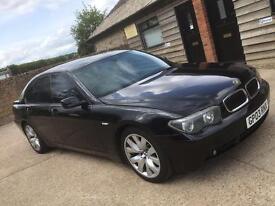 BMW 745i V8 petrol genuine m-sport rwd great spec & px possible
