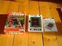 Trevor Francis Electronic Striker, vintage hand-held electronic game