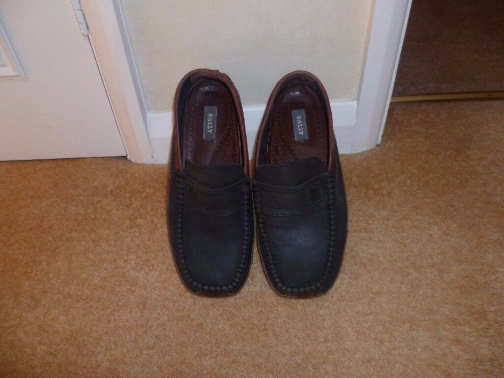 Bally Driving Shoes, Size 8