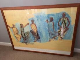 Large print & frame