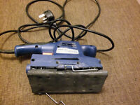 HAND SANDER HEAVY DUTY FOR FLOORS AND TABLES IN FULL WORKING ORDER