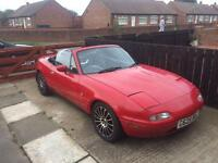 1990 mazda mx5 1.6 automatic for swaps or offers