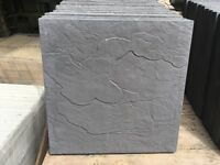 Slate black paving slabs new