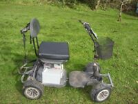hillman golf buggy very good batteries and charger