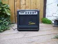 Guitar, or keyboard or bass practice amp, Freedom. Compact, portable with a great sound, working