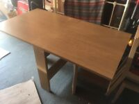 Next Drop Leaf Dining Table with Two Chairs