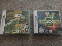 Ben 10 - Nintendo Ds game Bundle