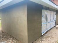 Plastering,rendering,tiling