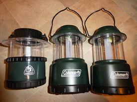3 x Collapsable battery Camp Light Lantern £7 each