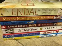 Children's Books - All dog related books (7) Varied Authors.