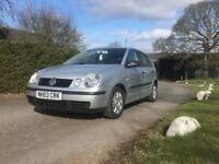 vw polo 2003 immaculate condition