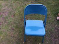 Metal folding camping / garden chair