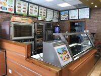 Subway store equipment, freezers, fridges, chairs, tables etc