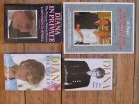 ELEVEN Hard Back Royal family Souvenir/Life Biographical Books - Colour Photos/ALL PERFECT CONDITION