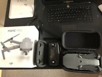 Dji Mavic Pro Boxed Mint Cases Nd Filtres Full Set Drone 10 Month Warranty