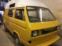 Volkswagen T25 subaru engine project T5 T4 campervan