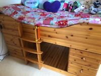 Stunning wooden Cabin Bed