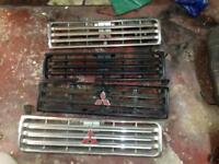 MITSUBISHI SHOGUN PAJERO FRONT GRILLS BREAKING WHOLE JEEP