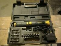 Cordless screwdriver & attachment's