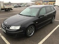 2006 SAAB 9-3 VECTOR SPORT ESTATE TID / NEW MOT / PX WELCOME / NEW CLUTCH / LEATHER / WE DELIVER