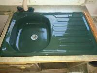 Caravan kitchen sink