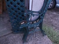 Cast Iron Back and Bench Ends