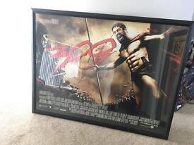 300 Framed Movie Poster