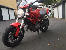 Ducati's Monster 796 2013 FSH, 7k miles, MINT, Arrow cans, heated grips