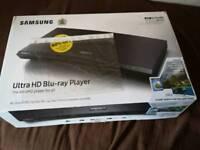 Samsung ubd m9000 4k uhd player.