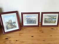 Watercolours of Dunure