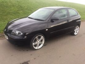 2006 SEAT IBIZA 1.2cc # £1295 # M.O.T TO MAY 2018 # LOW INSURANCE # LOW TAX # VERY ECONOMICAL #
