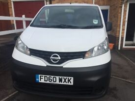 Nissan NV200 panel van 2011