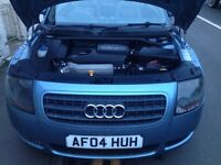 Audi TT 1.8 turbo 150bhp convertible with 10 month MOT very good runner