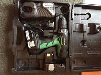 Hitachi 18v battery drill