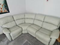 DFS Navona Double Electric Recliner Corner Sofa £600 ono