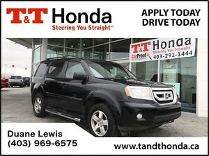 2011 Honda Pilot EX-L w/RES *No Accidents, One Owner, Leather In