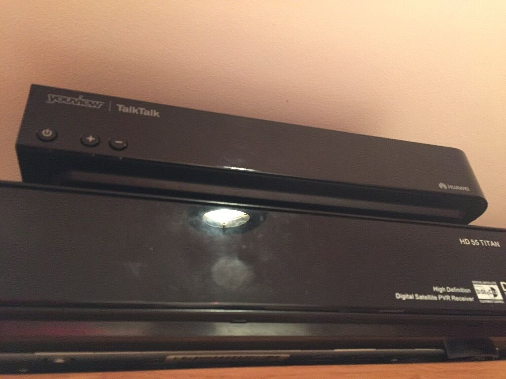 Talk talk you view boxin Newham, LondonGumtree - Talk talk you view box, in new condition, hardly used, this a non recording box Comes with remote and power, Can deliver