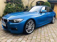 BMW F30 318d M Sport - audi a3 a4 a5 a6 s line vw golf gti gtd mercedes amg px warranty finance