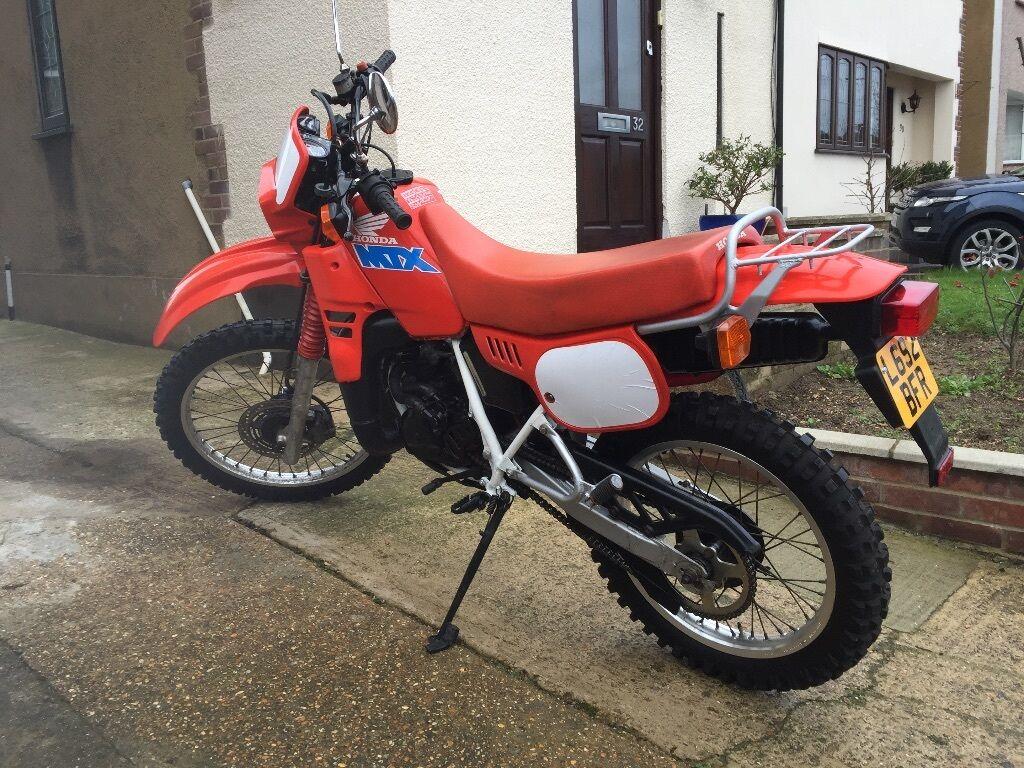 honda mtx 125r l reg 1993 red 2 stroke classic bike in. Black Bedroom Furniture Sets. Home Design Ideas