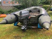 Sillinger 5.2 Meter Inflatable Boat.