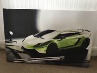 Lamborghini canvas - excellent condition