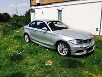 2008 BMW 120D M Sport Coupe 58reg Salvage Damaged Repairable 1 series