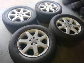 "Genuine OEM Mercedes ML 17"" 5x112 alloy wheels vito audi seat skoda vw"