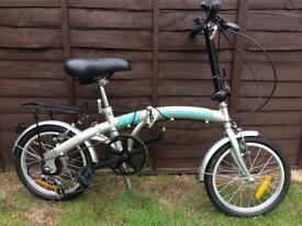 Proteam Foldaway bike
