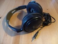 For Sale Philips SBC HP200 Black Headphones with 3.5mm