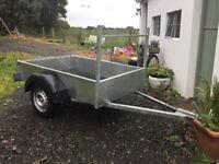 Galvanised trailer 6x4